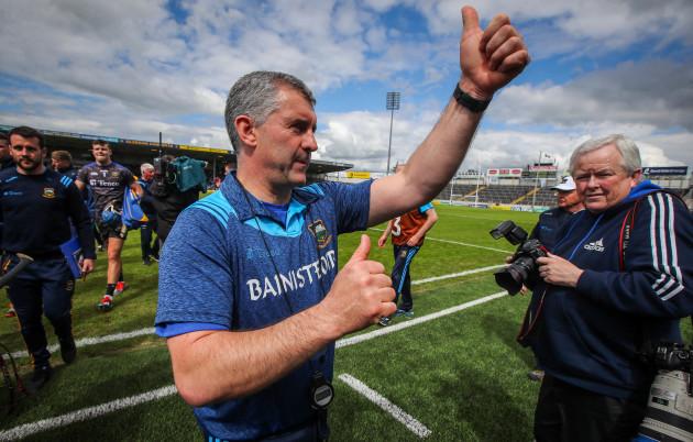 Liam Sheedy celebrates