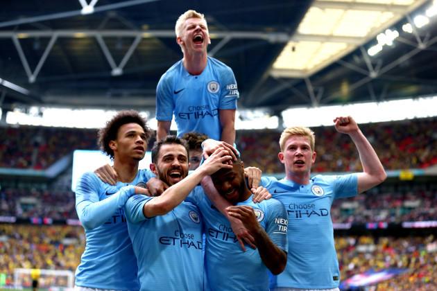 Manchester City v Watford - FA Cup Final - Wembley Stadium