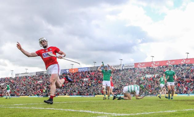 Patrick Horgan celebrates scoring his sides goal