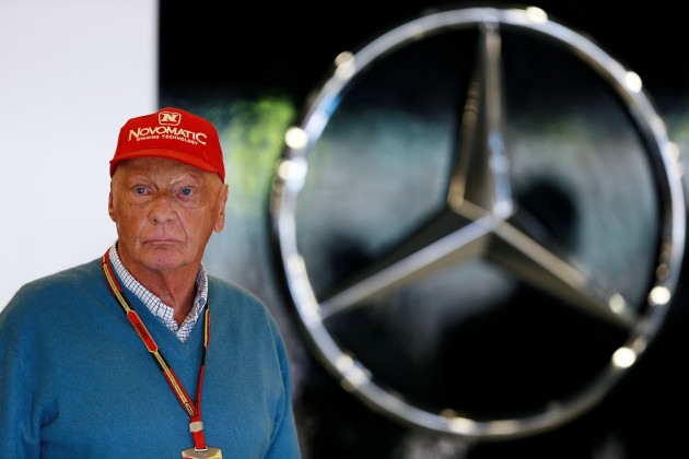 Niki Lauda File Photo