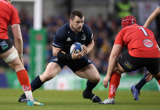 Leinster's Cian Healy