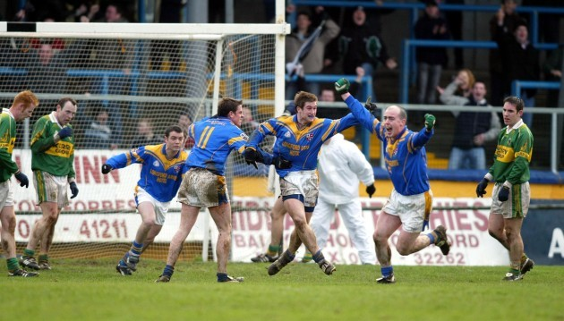 Stephen Lynch celebrates