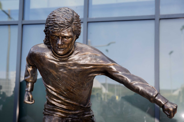 George Best statue in Belfast