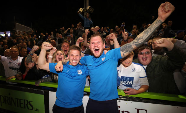 Forest Green Rovers v Tranmere Rovers - Sky Bet League Two Play-off - Semi Final - Second Leg - The New Lawn