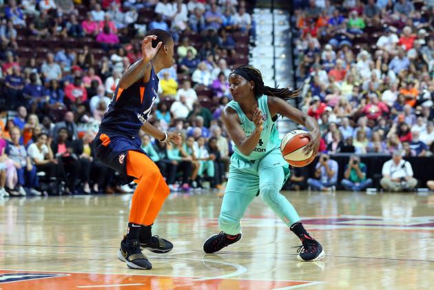 WNBA: AUG 01 New York Liberty at Connecticut Sun