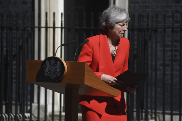 BRITAIN-LONDON-THERESA MAY