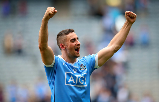 James McCarthy celebrates
