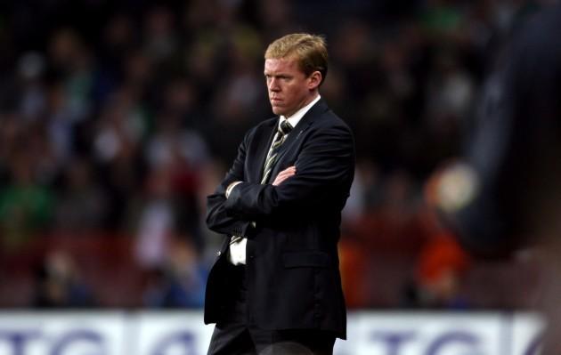 Manager Steve Staunton