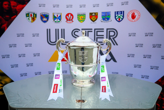 The Ulster Senior Football Championship trophy