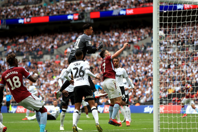 Aston Villa v Derby County - Sky Bet Championship Play-off - Final - Wembley Stadium