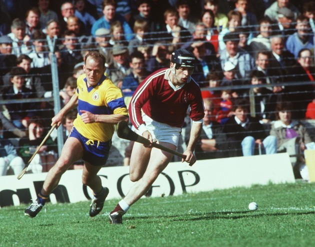 Anthony Cunningham and Ger Loughnane 1987