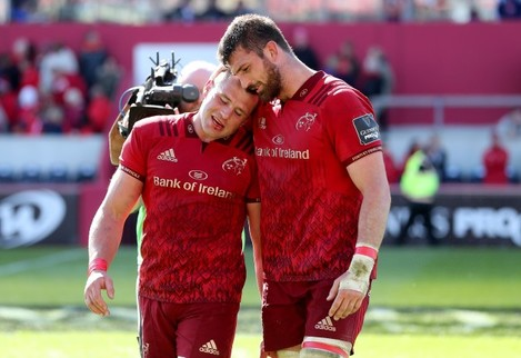 CJ Stander and Jean Kleyn after the game