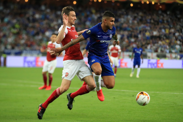 Chelsea v Arsenal - UEFA Europa League - Final - Olympic Stadium