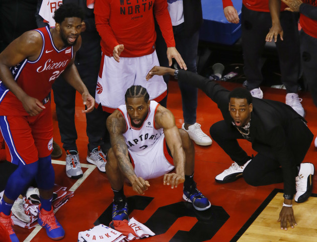 NBA: Playoffs-Philadelphia 76ers at Toronto Raptors