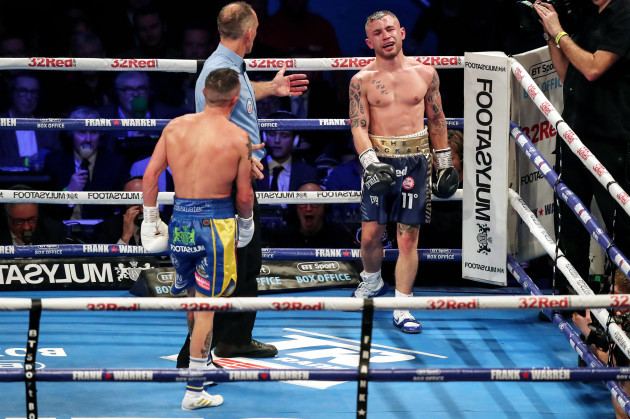 Carl Frampton and Josh Warrington