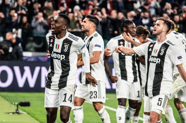 Italy: Juventus vs Atletico Madrid