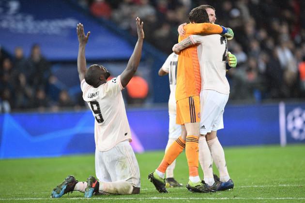 Champions League - PSG vs Manchester United