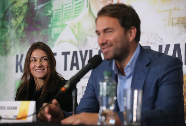 Katie Taylor Press Conference - Dublin