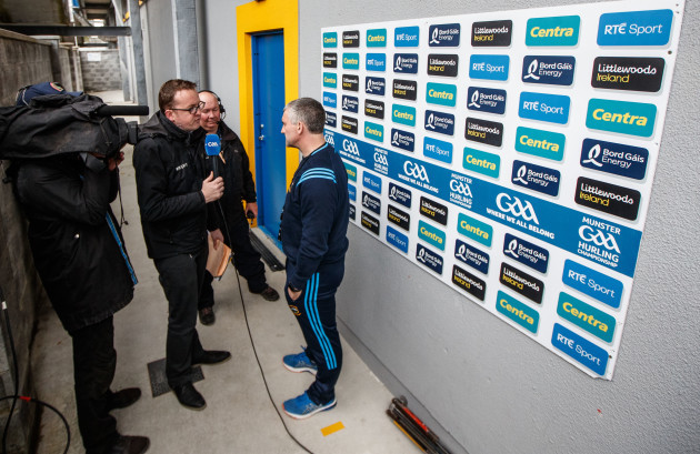 Damien O'Meara interviews Tipperary manager Liam Sheedy
