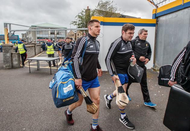 John Conlon arrives