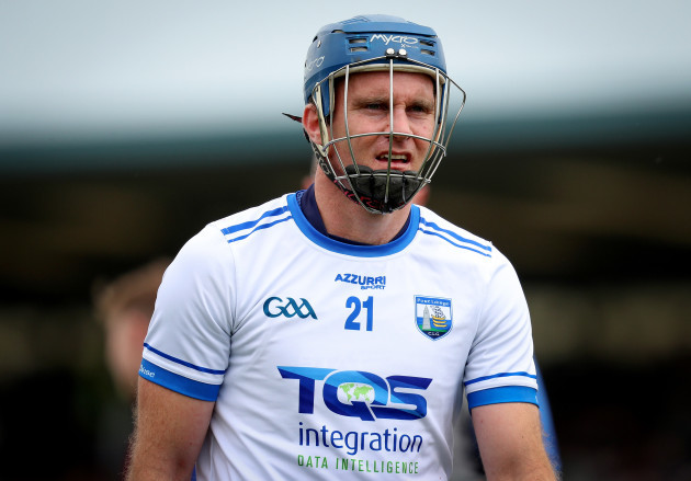 Michael Walsh dejected after the game