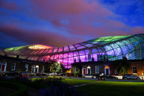 Aviva Ireland light up Aviva Stadium to celebrate Pride Month