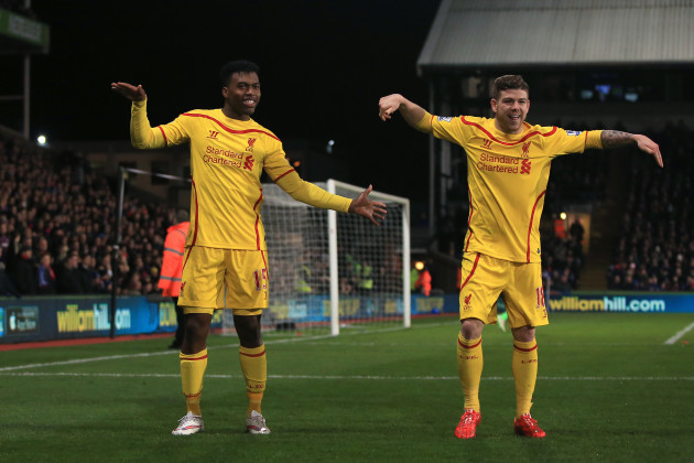 Soccer - FA Cup - Fifth Round - Crystal Palace v Liverpool - Selhurst Park