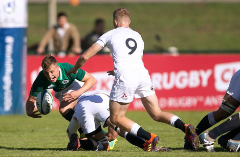 Craig Casey is tackled