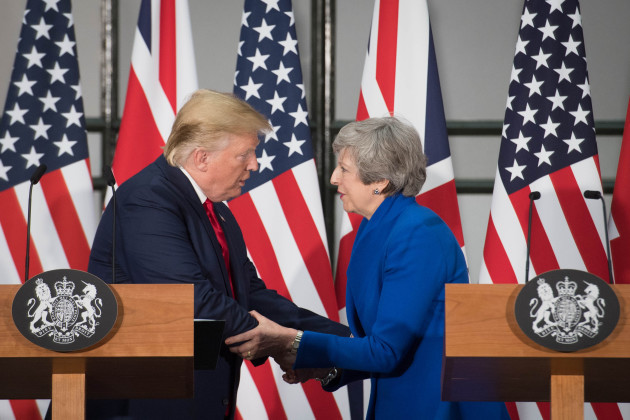 President Trump state visit to UK - Day Two
