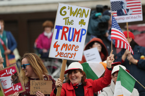 President Trump state visit to Ireland