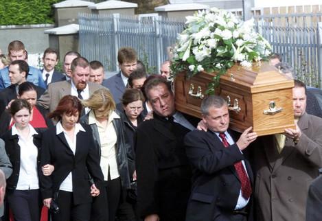 Martin O'Hagan's Funeral