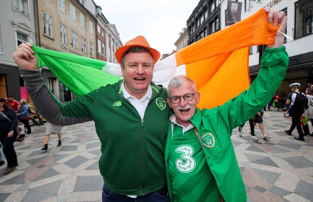 Mark O'Neill and Conor Ryan