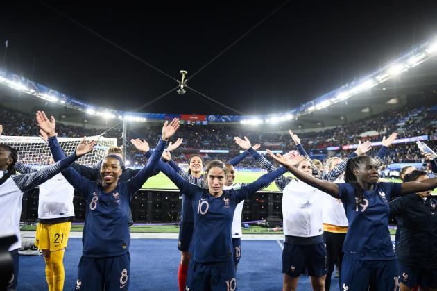 Women World Cup France Vs Korea