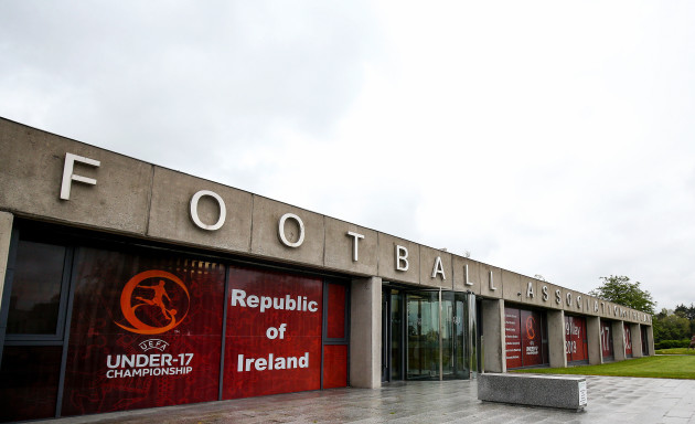 A view of FAI HQ in Abbotstown