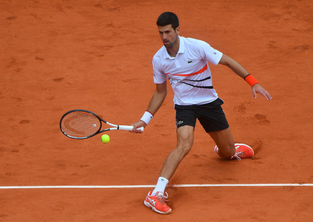 Djokovic Vs Thiem semi final Roland Garros