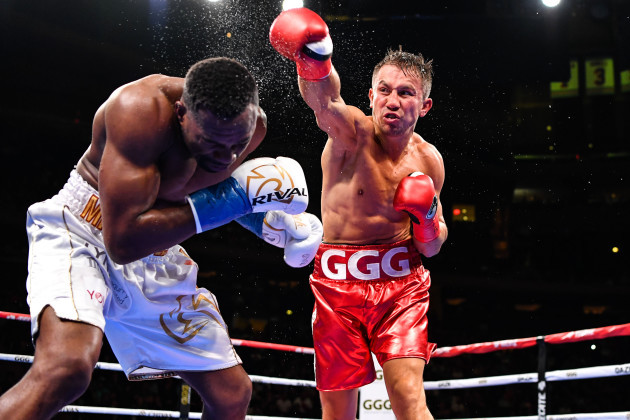 Boxing 2019: Golovkin Knocks Out Rolls In 4th Round