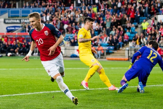 Image result for odegaard norway national team