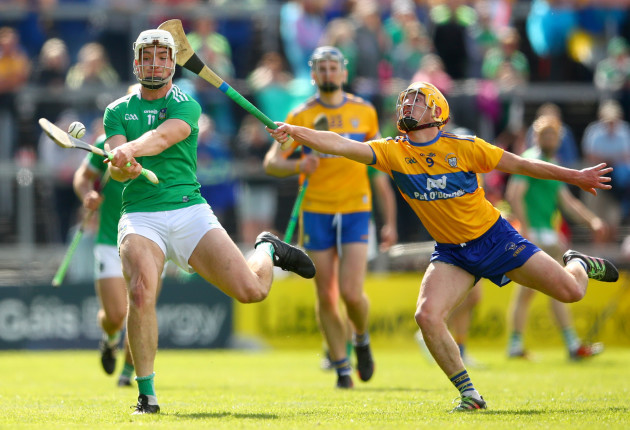 Kyle Hayes and Colm Galvin