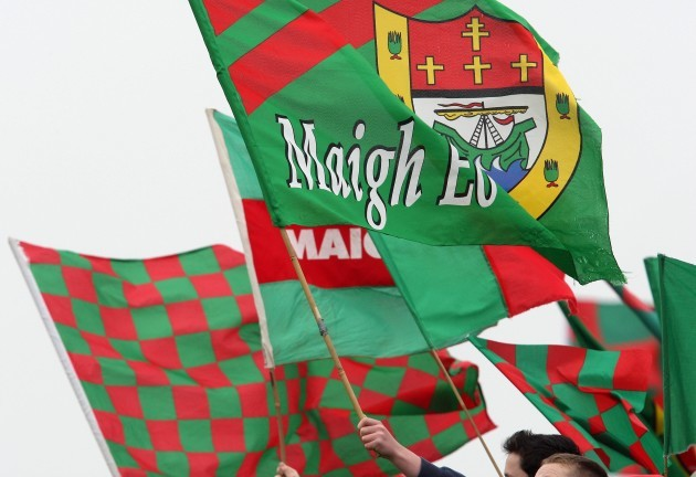 General view of Mayo flags