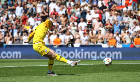Switzerland v England - Nations League - Third Place Play-Off - Estadio D. Alfonso Henriques