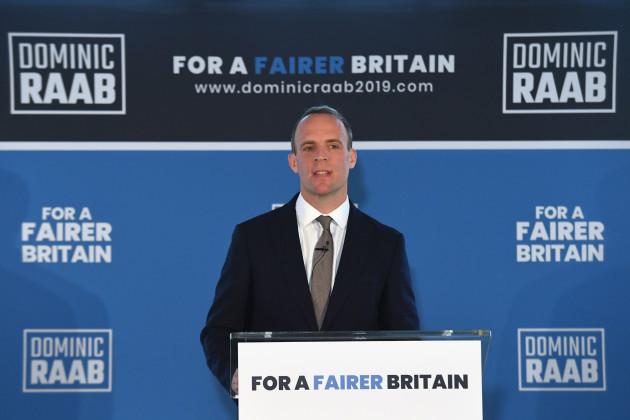 Tory leadership race