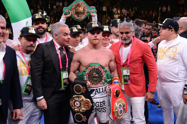 Boxing: Canelo vs Jacobs