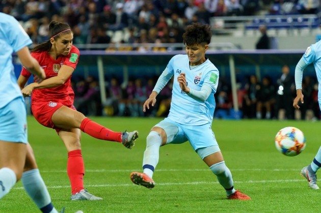 USA v Thailand - FIFA Women's World Cup 2019 - Group F - Stade Auguste-Delaune II