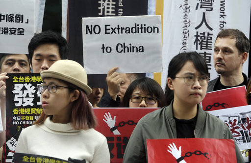 Taiwan Hong Kong Extradition Law