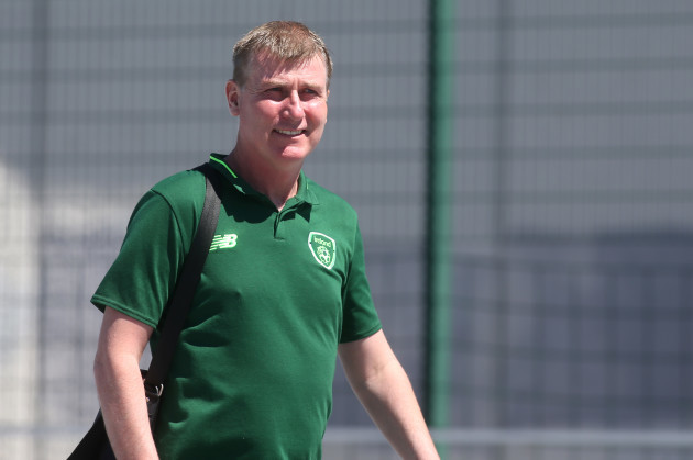 Stephen Kenny arrives