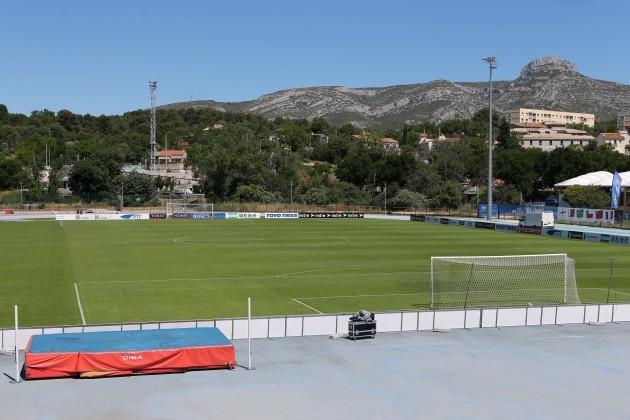 A general view of the Stade de Lattre