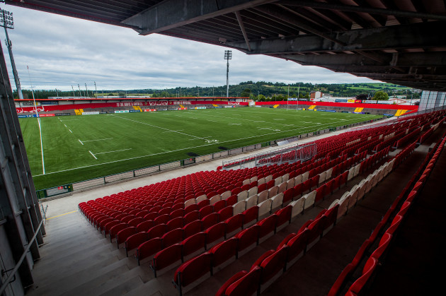 A view of the completed modified 3G pitch in Irish Independent Park