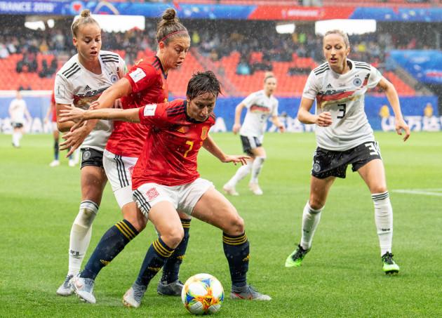 Women's Football World Cup - Germany - Spain