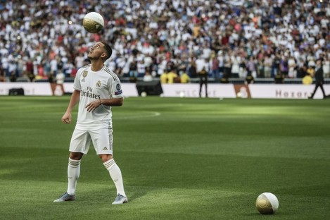 Spain Soccer Real Madrid Hazard