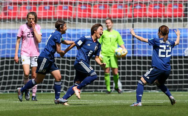 Japan v Scotland - FIFA Women's World Cup 2019 - Group D - Roazhon Park